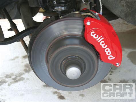 Wilwood D52cb Caliper Brakes Install