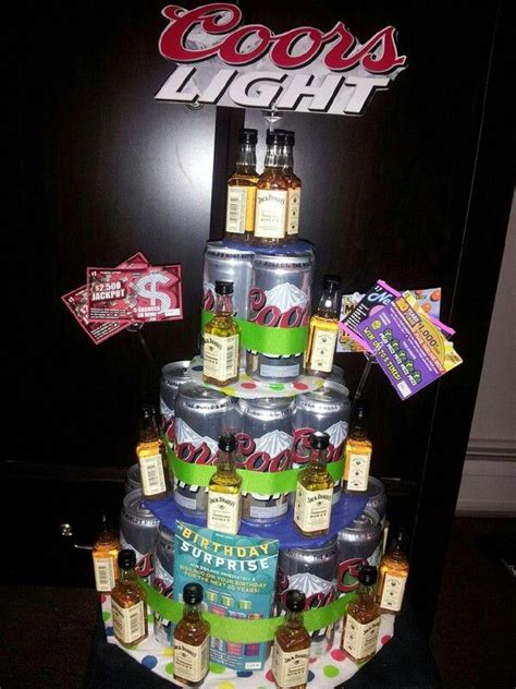 how to make coors light taste beer cake i made out of a case of coors light cans and