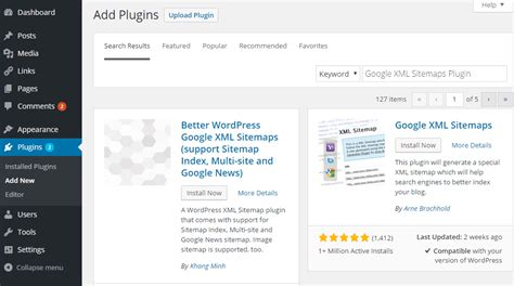 Create Xml Sitemaps Using Google Plugin