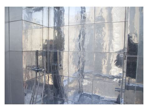 aluminum mirror finish tile union square nyc residence