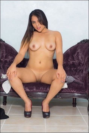 Bella Anthony Naked In Black Heels Lovely Brunettes