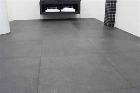 gray tile floors bedrock tiles some great tile ideas