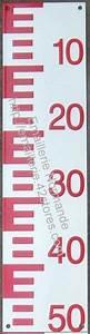 Regle A Echelle : echelle lymnigraphe echelle limnimetrique echelle de ~ Premium-room.com Idées de Décoration