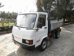 Fiat 1 7 Diesel 4x4 Effedi Gasolone Ribaltabile 3lati 2000 Three