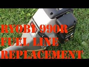Ryobi 990r Fuel Line Replacement  How To