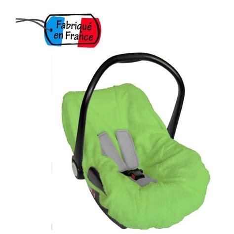 housse siege auto axiss bambisol housse éponge pour siège coque gr0 vert vert
