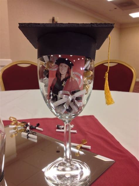 Graduation Decoration Ideas For Tables by 25 Best Ideas About Graduation Centerpieces On
