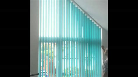 angled vertical blinds emanuel s curtains blinds and