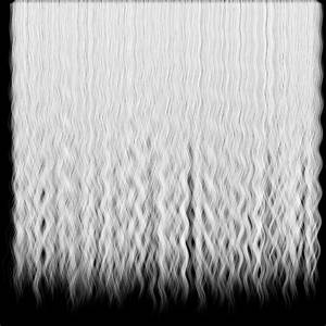 Curly Human Hair Texture Alpha