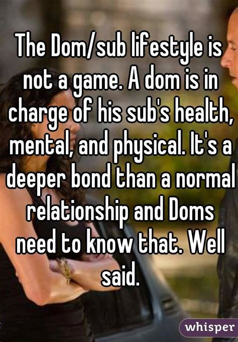 Dom Sub Memes - the dom sub lifestyle is not a game a dom is in charge of his sub s health mental and