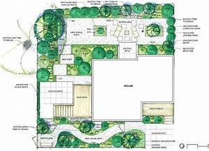 How to plan landscape lighting design : Simple landscape design plans full erin lau