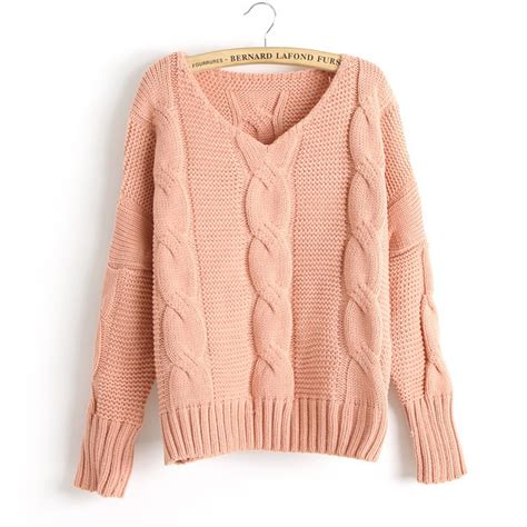 knit sweaters arrival twist bat sleeve knitted sweater on luulla