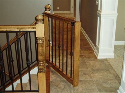 gate for stairs with banister baby gate decorating ideas in 2019 diy baby gate baby