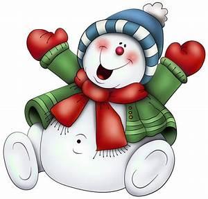 Snowman Border Clip Art - Clipartion.com