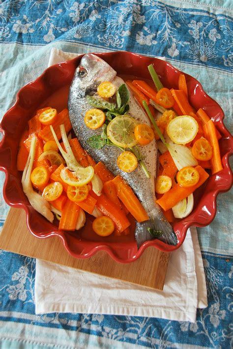 cuisiner la dorade dorade au four aux agrumes recette tangerine zest