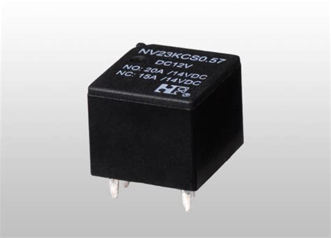 Nv23k Automotive Pcb Relays, Small, 6 Volt, 30 Amp, Water
