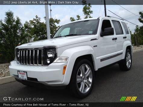 jeep liberty white 2017 bright white 2012 jeep liberty jet 4x4 dark slate gray