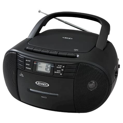 174 portable stereo cd cassette recorder with am fm radio target