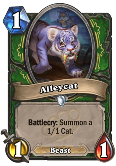 Hearthstone Beast Deck 2016 by Alleycat Hearthstone Card