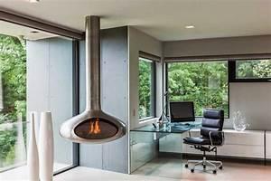 Poele A Bois Suspendu : sands point residence par narofsky architecture long ~ Zukunftsfamilie.com Idées de Décoration