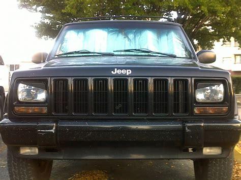 jeep angry headlights angry eyes head lights how to jeep cherokee forum