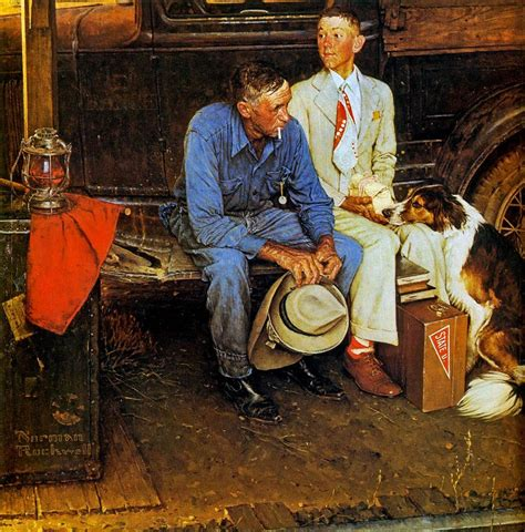 norman rockwell the myths of