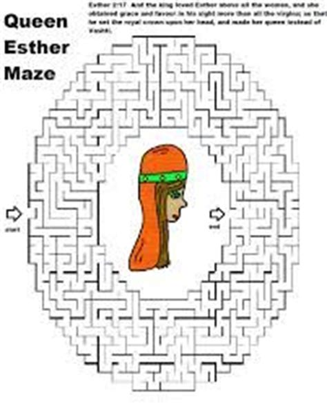 48 best esther images on church ideas sunday 435 | 24a95f49d3e624454434594c883ca447 maze free printable