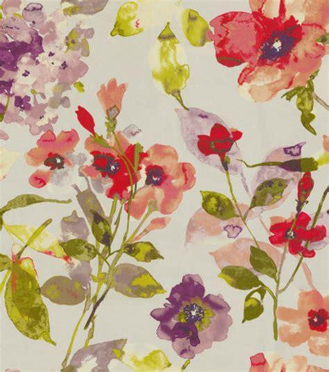 home decor fabric hgtv home decor print fabric color study berry jo