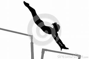 Gymnastics Woman Silhouette Stock Image - Image: 35849431