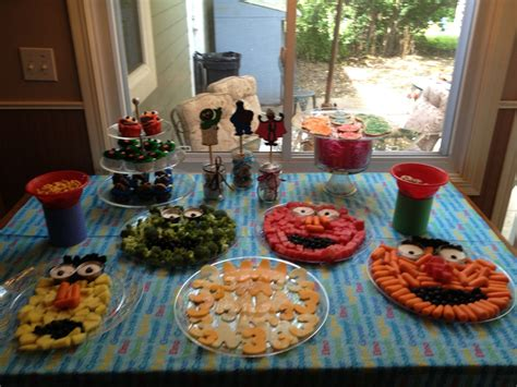 Elmo has to find four healthy foods of various colors on sesame street before the mouse climbs to the top of the refrigerator. The top 24 Ideas About Sesame Street Party Food Ideas - Home, Family, Style and Art Ideas