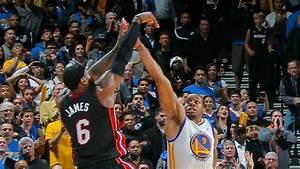 LeBron James Hits A Game Winner Vs Warriors
