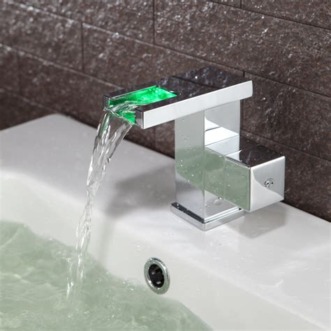 top sale color changing led taps with disount and fast shipping