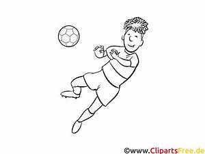 Fussballspieler Bild Zum Ausdrucken Und Ausmalen