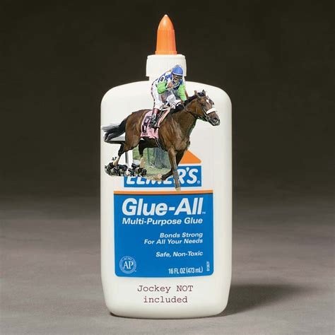 glue horse barbaro factory elmer perception reality limited edition special road