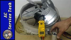 Outdoor Hvac Unit Fan Motor  Step By Step Troubleshooting