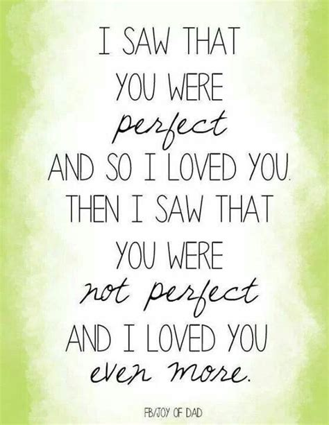 I Thought You Were Perfect Quotes