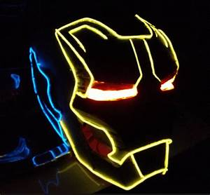 Helmet Lights How to light up your helmet like Tron