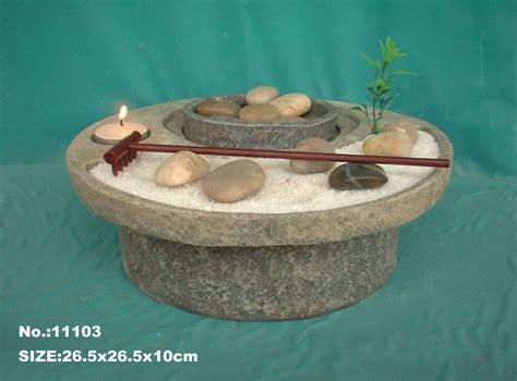 Feng Shui Tabletop Electric Zen Garden Water Fountain