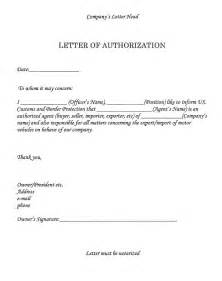 Notarized Authorization Letter Sample Image Result For Authorization Letter Government Sample