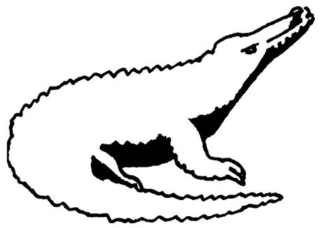 animal drawing outline clipart