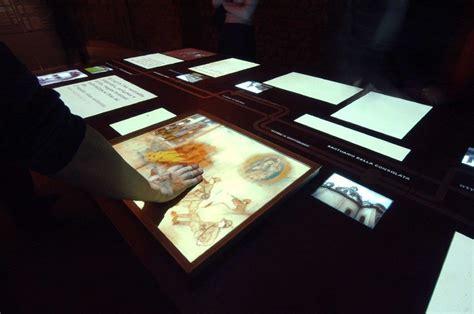 tavolo multimediale museo diffuso della resistenza della deportazione della