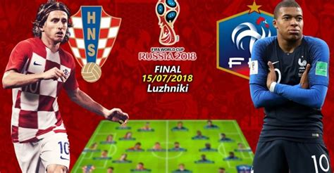 Worldcup Final Who Will Win The Trophy France Croatia