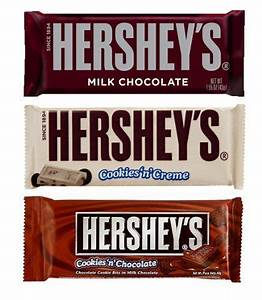 Hersheys Chocolate Bar Mix (Cookies & Cream, Chocolate ...