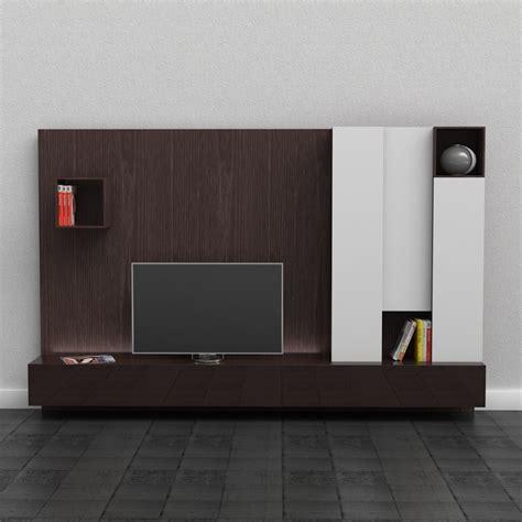 media cabinets modern 3d poliform sintesi shleving system high quality 3d models
