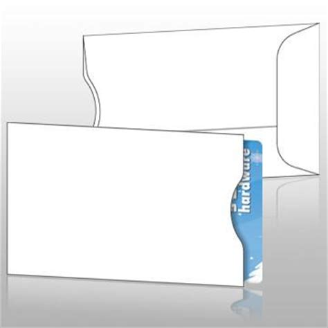 credit card sleeve template blank gift card sleeves