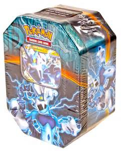 2013 pokemon team plasma fall ex collectors tin thundurus