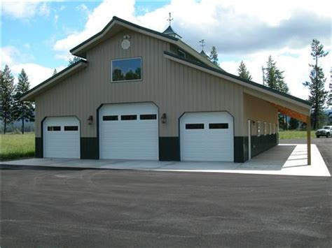 Pole Barn Styles by Pole Buildings Shop Buildings Monitor Roof Style