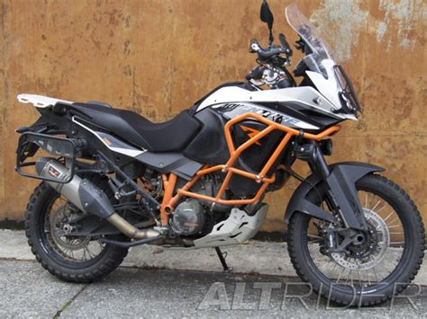 altrider rear luggage rack   ktm  adventure