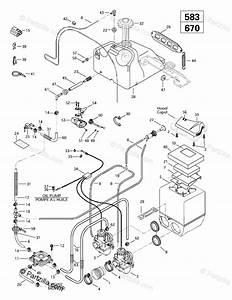 Ski Z 583  Z 670 Oem Parts Diagram For