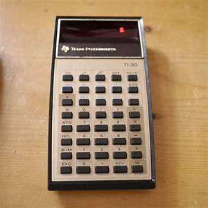 Vintage Original 1978 Texas Instruments Calculator Ti 30